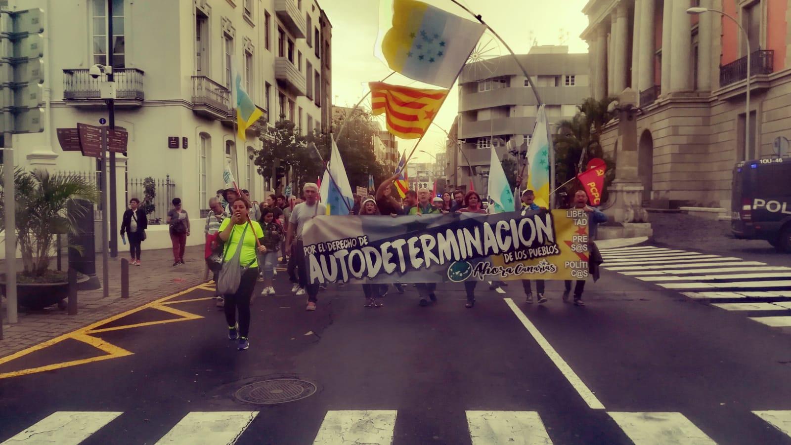 AHORA CANARIAS insta a España a tomar una vía diplomática para resolver pacíficamente un conflicto creado por el propio Estado